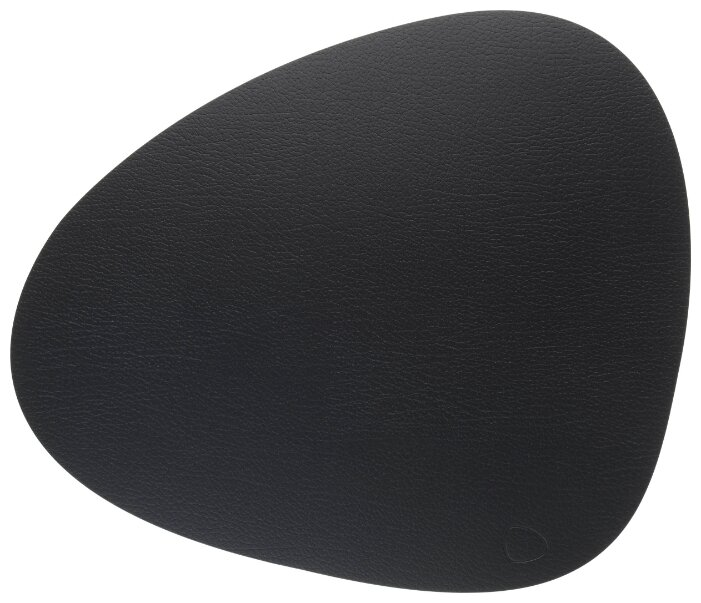9873 BULL brown подстановочная салфетка фигурная 37x44 см, толщина 2мм, кожа, Дания, Lind DNA 9873
