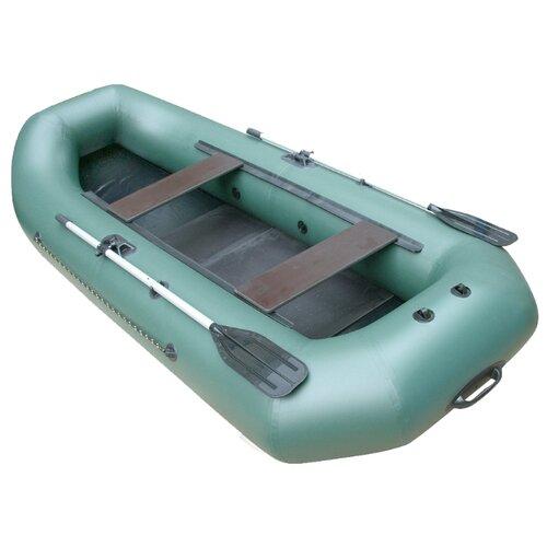 Надувная лодка Leader Компакт 290 гребная зеленый надувная лодка leader компакт 200 зеленый