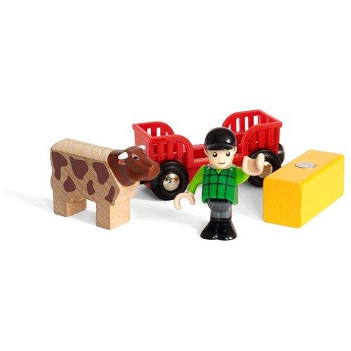 Фото - Игровой набор Brio Мальчик на ферме 33879 набор игровой brio супер делюкс город 106 деталей