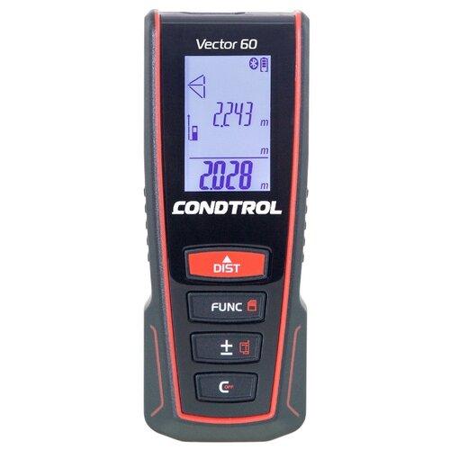 Фото - Лазерный дальномер Condtrol Vector 60 60 м черный/красный лазерный дальномер condtrol vector 600