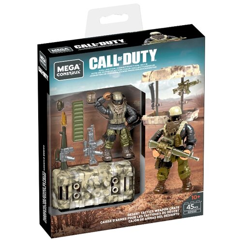 Mega Construx Call of Duty GDG50 Ящик с оружием для пустыни