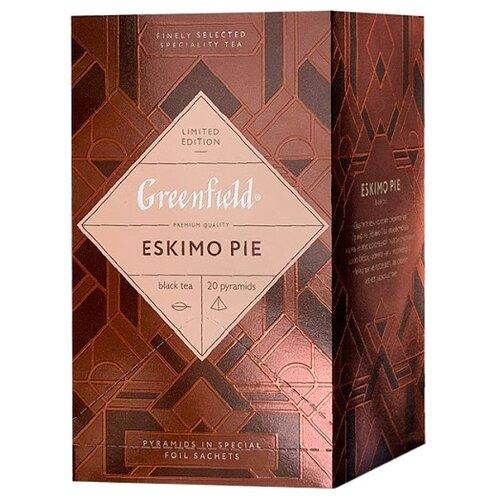 Чай черный Greenfield Eskimo pie в пирамидках, 44 г 20 шт.