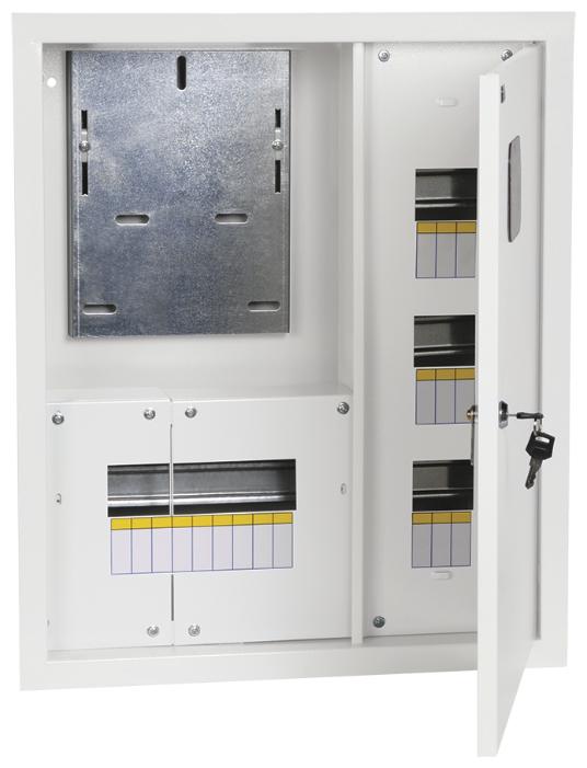 Щит учетно-распределительный IEK встраиваемый, модулей: 18 MKM33-V-18-31-ZO