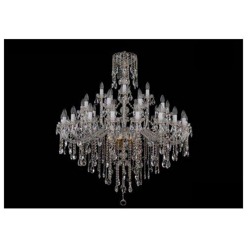 Фото - Люстра Bohemia Ivele Crystal 1415 1415/20+10+5/400/G, E14, 1400 Вт люстра bohemia ivele crystal 1415 1415 20 10 5 400 xl 180 3d g e14 1400 вт