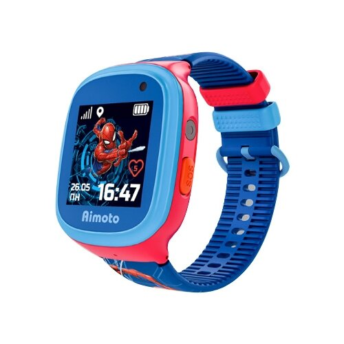 Купить Детские умные часы Aimoto Marvel Человек-паук красный/синий/голубой