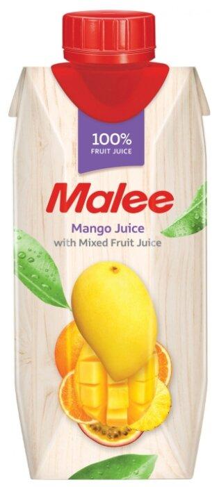 Сок Malee Манго с добавлением фруктов, без сахара, 1 л