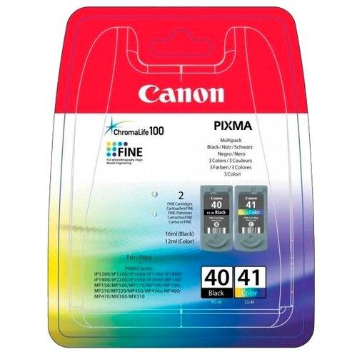 Фото - Набор картриджей Canon PG-40/CL-41 Multipack (0615B036/0615B043) набор картриджей canon pg 40 cl 41 multipack 0615b043