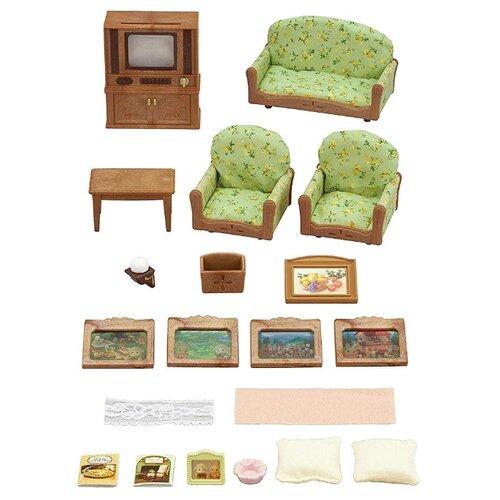 Купить Игровой набор Sylvanian Families Гостиная с телевизором 5287, Игровые наборы и фигурки