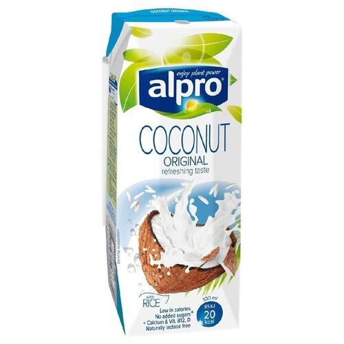 Кокосовый напиток alpro Оригинальный с рисом 0.9%, 250 мл