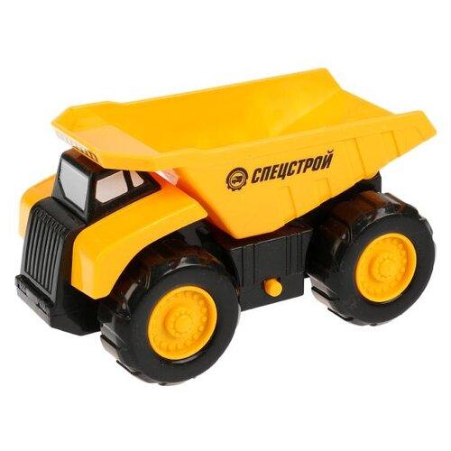 Купить Грузовик ТЕХНОПАРК Самосвал (1811A046-R) 17 см желтый/черный, Машинки и техника