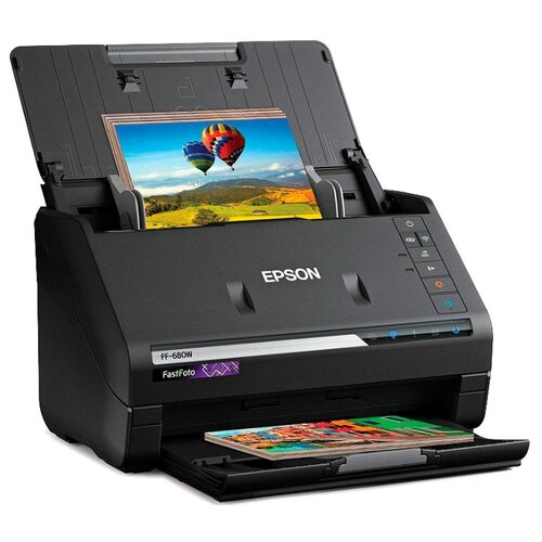 Сканер Epson FastFoto FF-680W черный