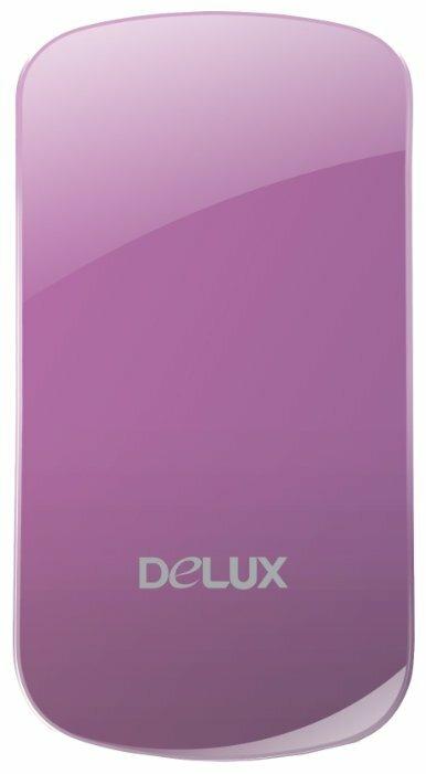 Мышь Delux DLM-128GL Pink USB