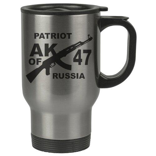 Автомобильная термокружка Патриот России. АК 47.