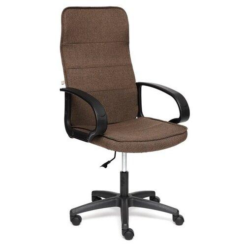 Компьютерное кресло TetChair Woker офисное, обивка: текстиль, цвет: коричневый компьютерное кресло tetchair барон обивка искусственная кожа цвет бежевый