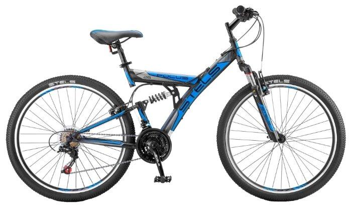 Горный (MTB) велосипед STELS Focus V 26 18-sp V030 (2018) синий/черный 18