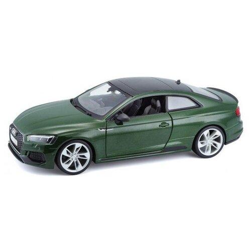 Купить Легковой автомобиль Bburago Audi RS 5 Coupe 2019 (18-21090) 1:24 зеленый, Машинки и техника