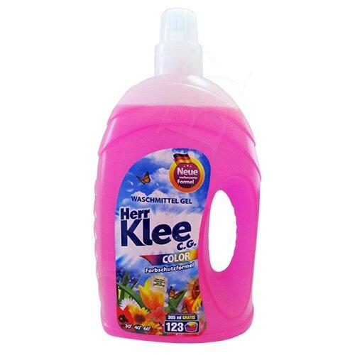 Гель для стирки Herr Klee Color для цветного белья 4.3 л бутылка c graupner fuhr uns herr in versuchung nicht gwv 1121 32