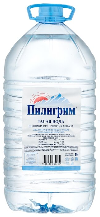Талая ледниковая вода «Пилигрим» 8*0.25 л. (без газа)