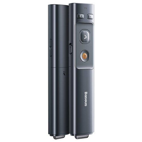 Презентер Baseus Orange Dot Wireless Presenter серый baseus wireless presenter usb