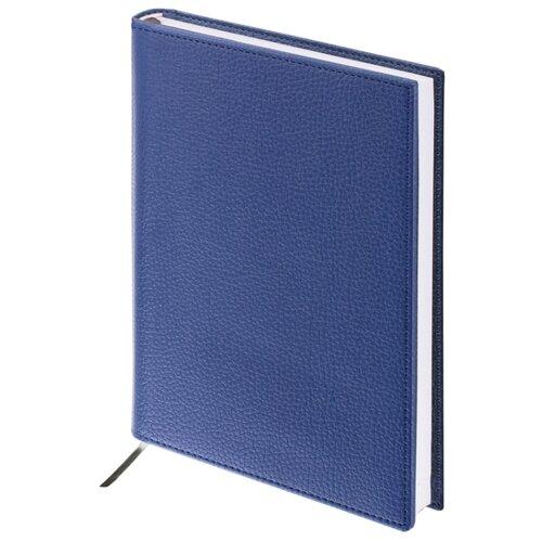 Купить Ежедневник BRAUBERG Favorite недатированный, А5, 160 листов, темно-синий, Ежедневники, записные книжки