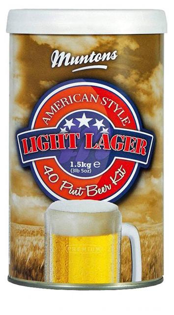 Muntons American Light Lager 1500 г