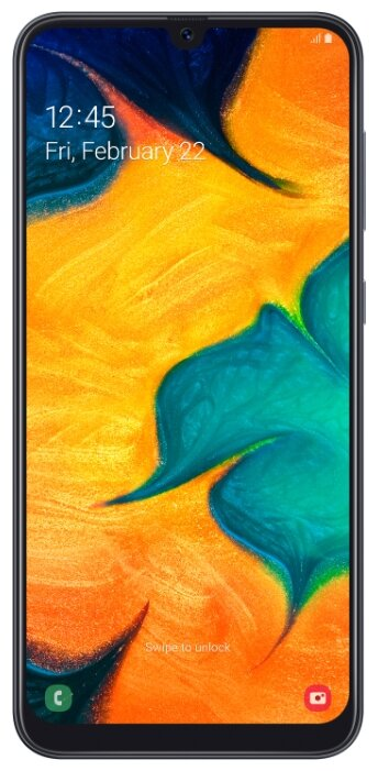 Смартфон Samsung Galaxy A30 (2019) SM-A305F 3/32Gb white