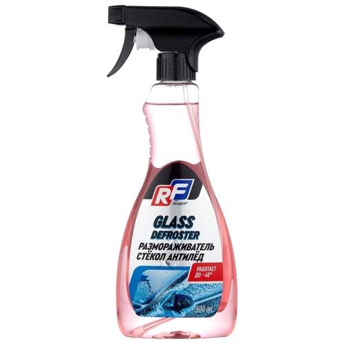 Очиститель для автостёкол RUSEFF Антилёд, 0.5 л