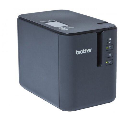 Термальный принтер этикеток Brother PTP-900W светло-серый/черный