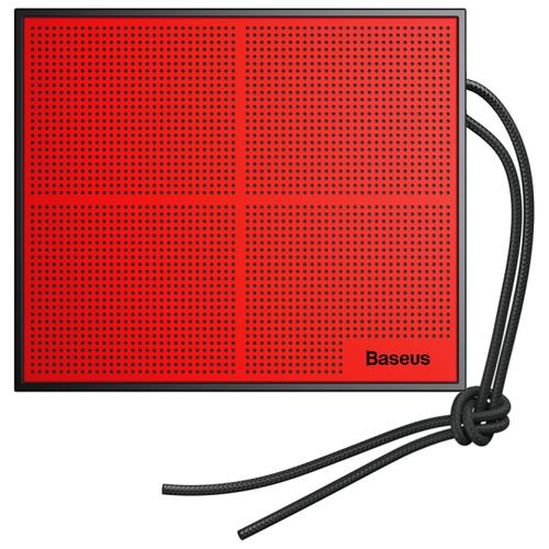 Портативная акустика Baseus Encok Music-cube E05 черный / красный