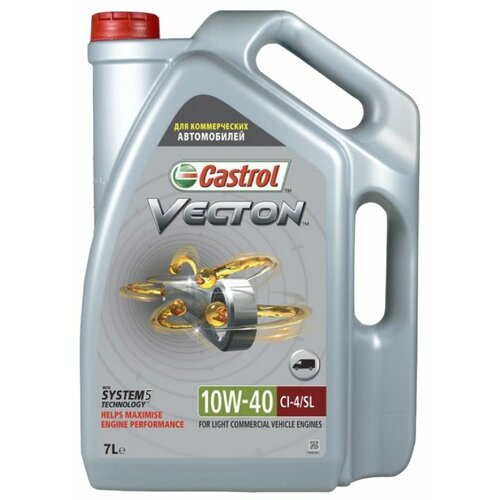 цена на Моторное масло Castrol Vecton 10W-40 7 л