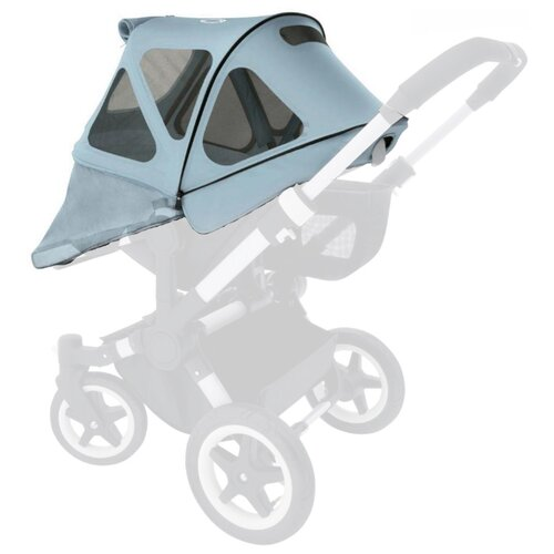 Купить Bugaboo Вентилируемый капюшон от солнца Donkey 3 vapor blue, Аксессуары для колясок и автокресел