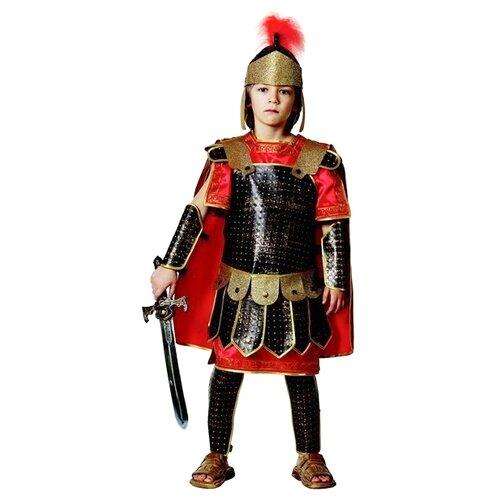 Купить Костюм Батик Римский воин (916), коричневый/красный, размер 158, Карнавальные костюмы