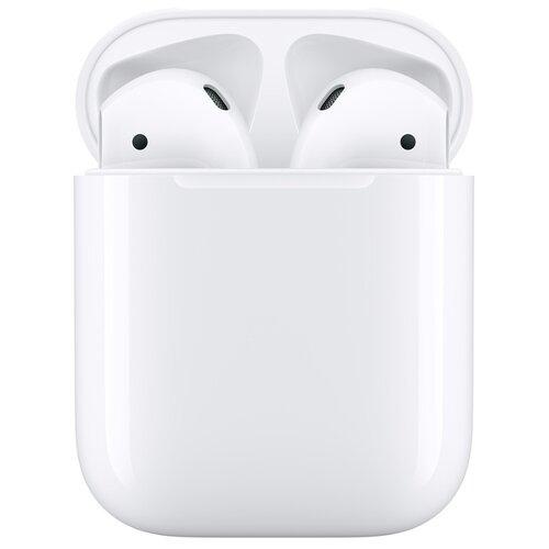 Купить Наушники Apple AirPods 2 (без беспроводной зарядки чехла) white