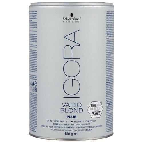 IGORA Vario Blond Plus Голубой порошок для обесцвечивания волос, 450 г