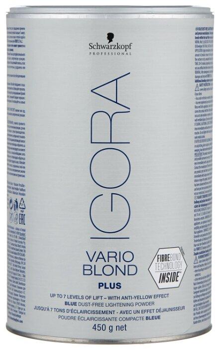 IGORA Vario Blond Plus Голубой порошок