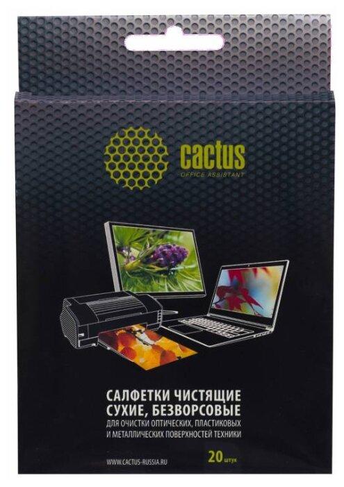 Cactus CS T1003 сухие салфетки 20