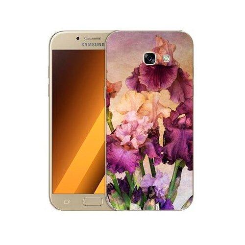 Чехол Gosso 506127 для Samsung Galaxy A5 (2017) фиолетовые цветы чехол для samsung galaxy a5 2017 130816