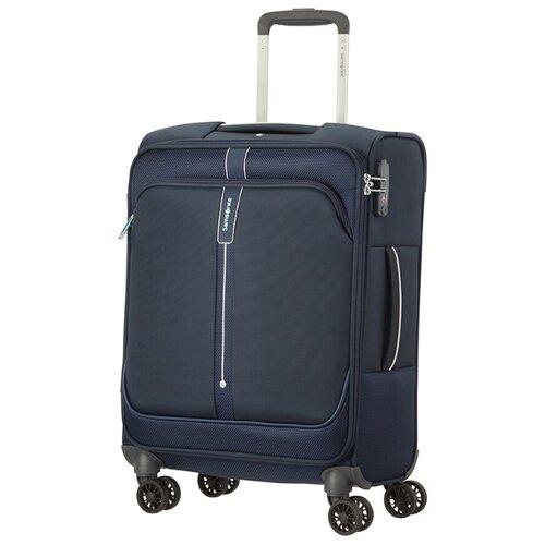 Чемодан Samsonite Popsoda S 40 л, Темно-синий/Dark Blue чемодан samsonite s cure s 34 л