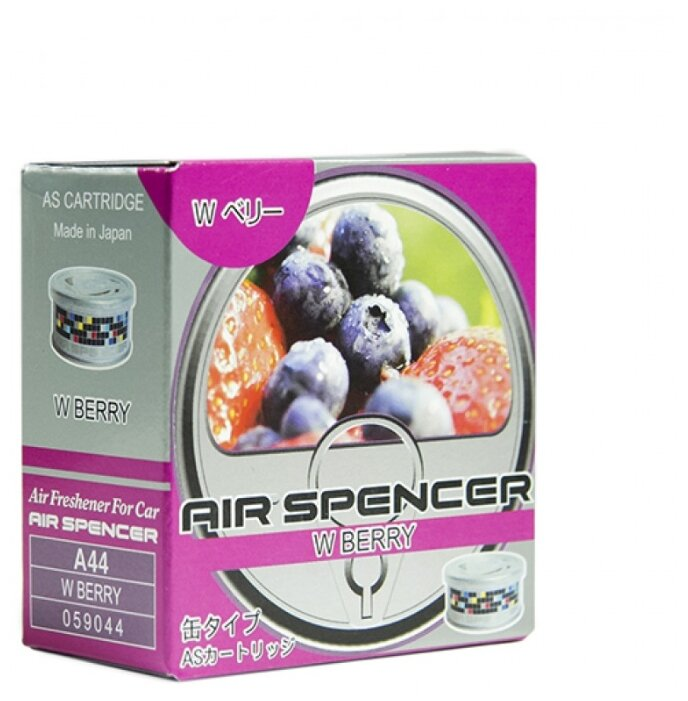 Eikosha Ароматизатор для автомобиля Air Spencer A-44, W Berry