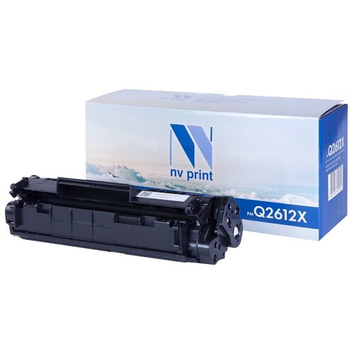 Фото - Картридж NV Print Q2612X для HP, совместимый картридж nv print cf380x для hp