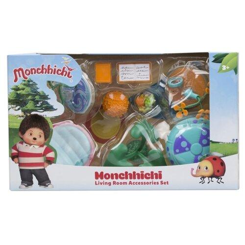Игровой набор Silverlit Monchhichi Гостиная комната с зеленым ковром 81527 игровой набор silverlit monchhichi вилли с кабриолетом 81513