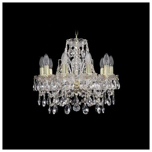 Люстра Bohemia Ivele Crystal 1411 1411/10/141/G, E14, 400 Вт bohemia ivele crystal подвесная люстра 1411 12 380 72 g