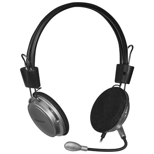 Компьютерная гарнитура Defender Aura 120 черный/серыйКомпьютерные гарнитуры<br>