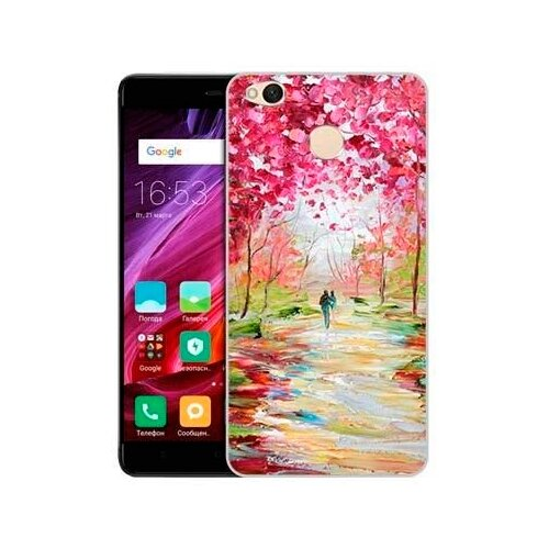 Купить Чехол Gosso 625161 для Xiaomi Redmi 4X весенняя роща