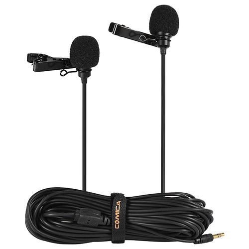 Микрофон Comica CVM-D02 (B4.5m), черный