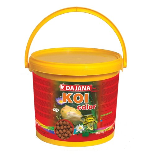 Сухой корм Dajana Pet Koi Color для рыб 5000 мл 2000 г