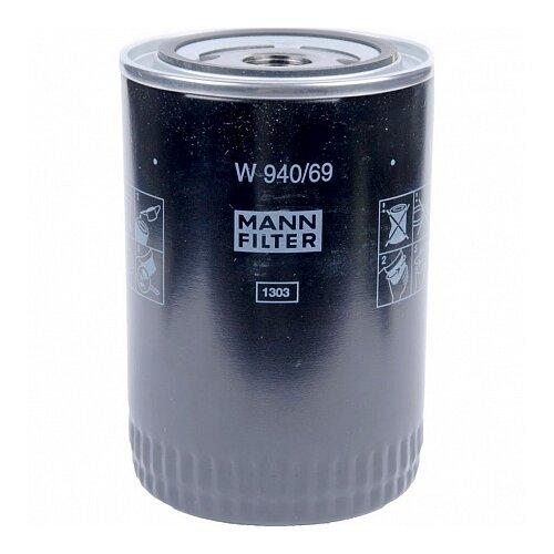 Масляный фильтр MANNFILTER W940/69