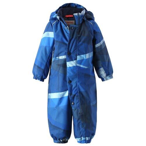 Купить Комбинезон Reima Luosto 510301 размер 74, синий, Теплые комбинезоны