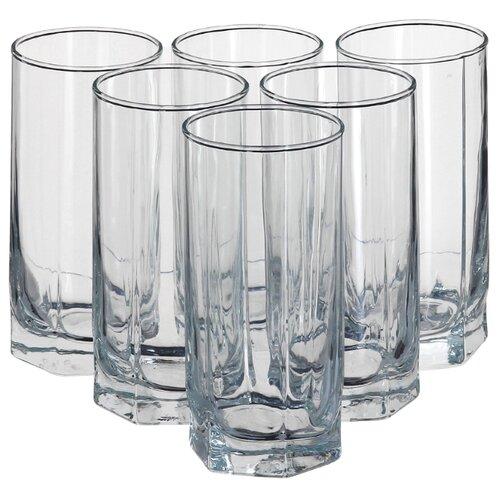 Pasabahce Набор стаканов Tango 290 мл 6 шт прозрачный цена 2017