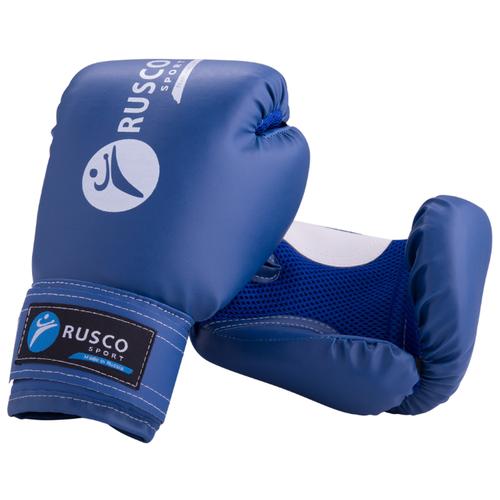 Боксерские перчатки RUSCO SPORT 4-10 oz синий 4 oz